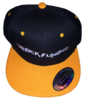 ShockSumOne™ Embroidered Two-Tone Flat Bill SnapBack Cap