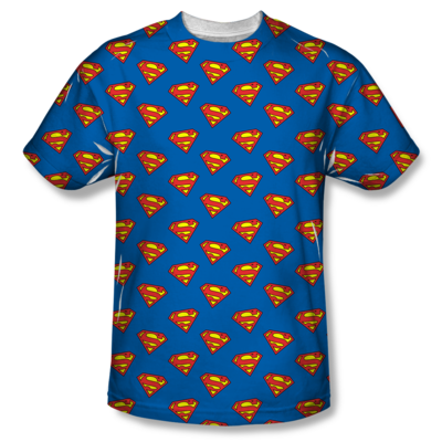 Superman™ SHIELDS GALORE All-Over T-Shirt