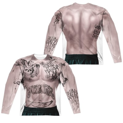 The Joker™ TATTOOS Costume All-Over Apparel