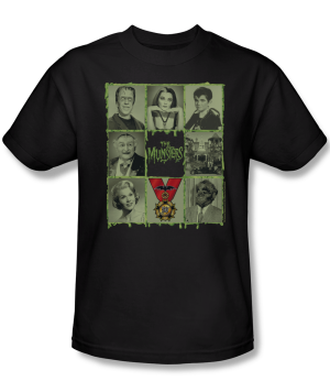 The Munsters™ 50th Anniversary SPOOKY BUNCH Apparel