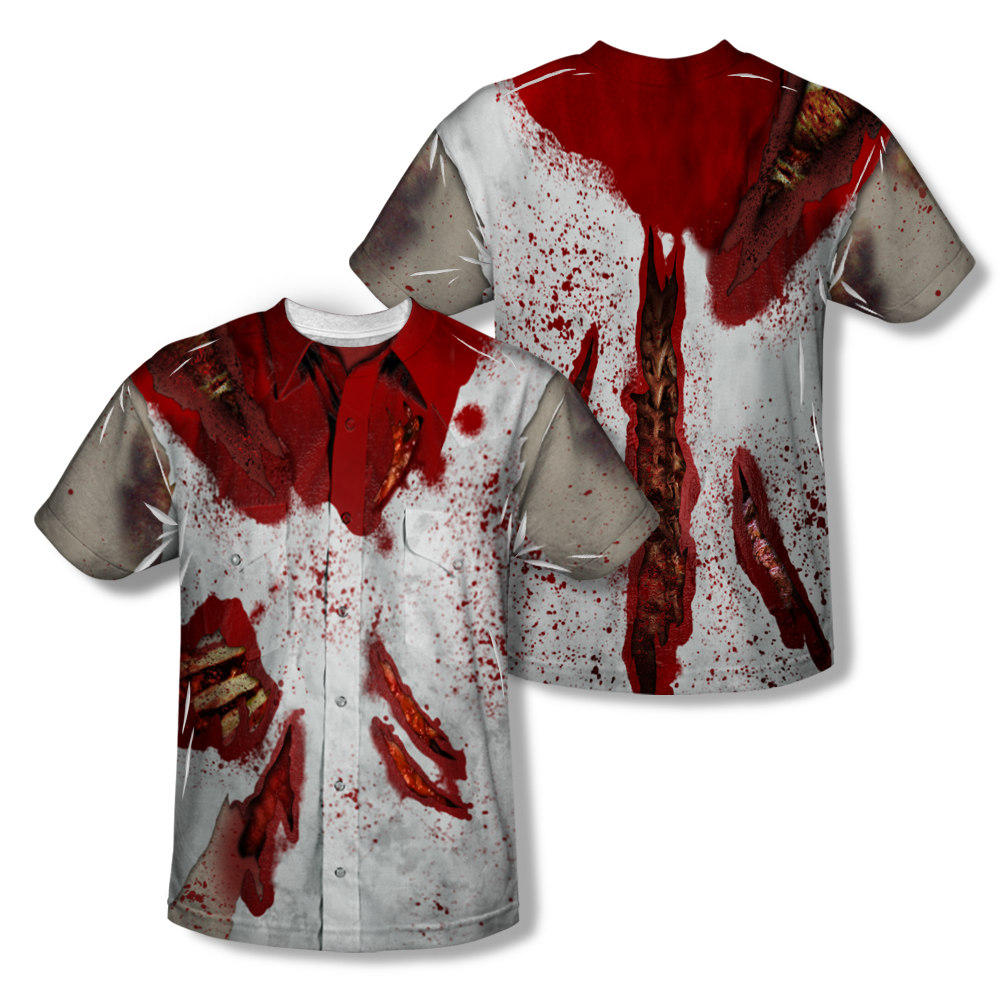 Ripped Up Zombie All-Over T-