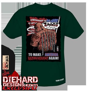 "Zandig™ ""MAKE AMERICA ULTRAVIOLENT AGAIN"" Made in USA T-Shirt"
