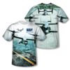 "U.S. NAVY ""OSPREY"" All-Over T-Shirt"