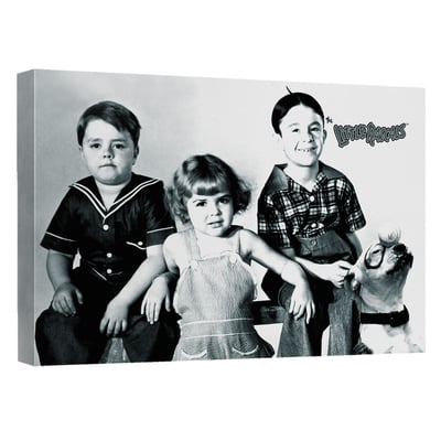 Little Rascals™ FOUR OF THE FRIENDS Art Canvas