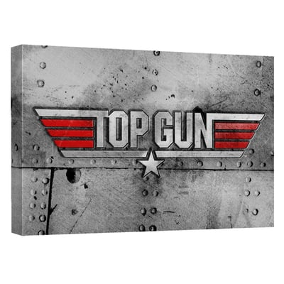 Top Gun™ HEAVY METAL Art Canvas