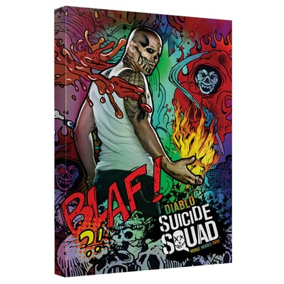 El Diablo™ PSYCHEDELIC CARTOON Art Canvas