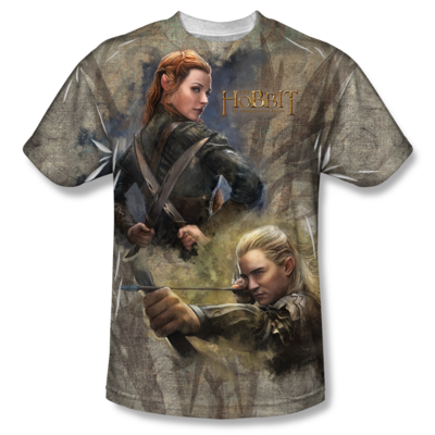 The Hobbit™ Elves All-Over T-Shirt