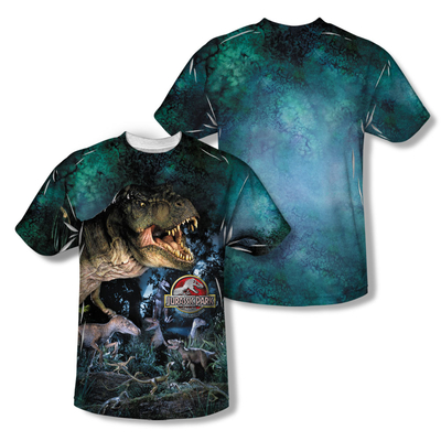 Jurassic Park™ DINOS GATHER All-Over T-Shirt