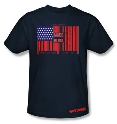ShockSumOne™ Barcode Flag Apparel