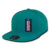 Retro Flat Bill Fitted Baseball Cap
