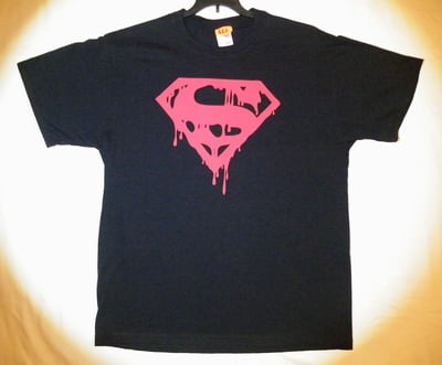 "Death of Superman™ ""BLOOD SHIELD"" T-Shirt - Adult Large (LAST 1 LEFT!)"