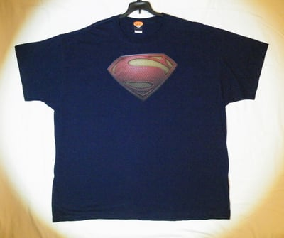 "Man of Steel™ ""SUPERMAN'S SHIELD"" T-Shirt - Adult 3XL (LAST 1 LEFT!)"