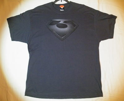 "Man of Steel™ ""ZOD'S SHIELD"" T-Shirt - Adult 2XL (LAST 1 LEFT!)"