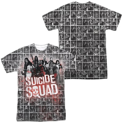 Suicide Squad™ SPLATTER HIGH YEARBOOK All-Over Apparel