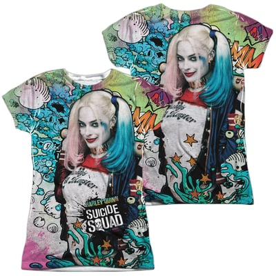 Harley Quinn™ PSYCHEDELIC CARTOON All-Over Apparel