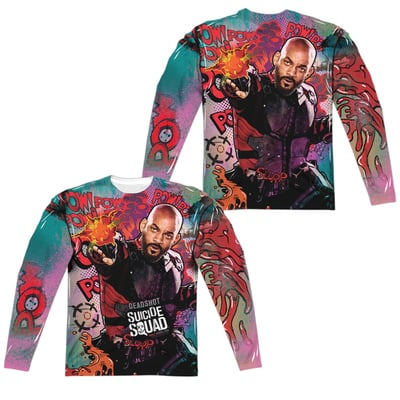 Deadshot™ PSYCHEDELIC CARTOON All-Over Apparel