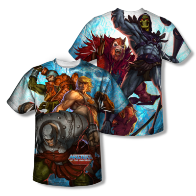 Masters of the Universe™ HEROES vs. VILLAINS All-Over T-Shirt