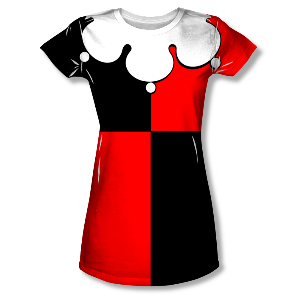 Harley quinn costume all over t shirt for Costume t shirts online