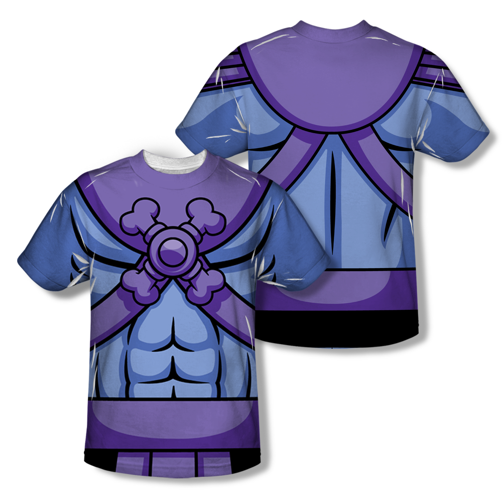 Masters Of The Universe Skeletor Costume All Over T Shirt