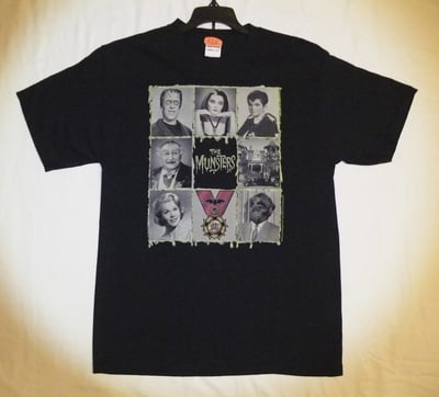 The Munsters™ 50th Anniversary T-Shirt - Adult Medium (LAST 1 LEFT!)