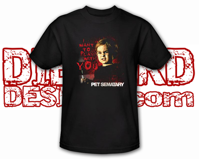 "Pet Sematary™ ""I WANT TO PLAY WITH YOU!"" T-Shirt"