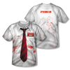 Shaun Of The Dead™ Bloody Workshirt & Tie All-Over T-Shirt