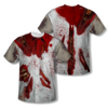 Ripped Up Zombie All-Over T-Shirt