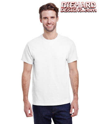 Gildan Ultra Cotton™ 6 Oz. Adult T-Shirt + 1 Full Color Print (NO White Ink)