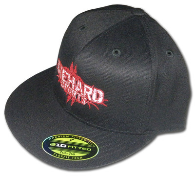 Diehard Sports™ Flexfit Premium Fitted Flat Bill Cap