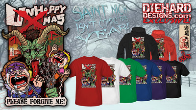 "Krampus ""Unhappy X-Mas"" Apparel"