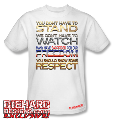 STAND WATCH FREEDOM RESPECT T-Shirt
