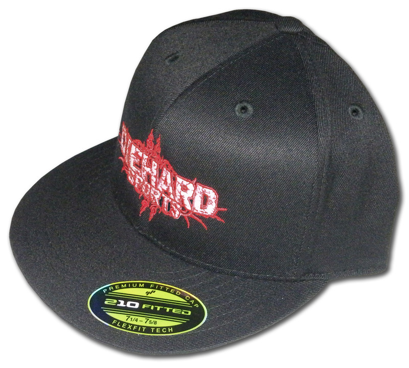 Diehard Sports Flexfit Premium Fitted Flat Bill Cap