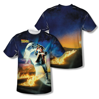 Back To The Future™ MOVIE POSTER All-Over T-Shirt