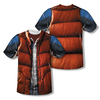 Back To The Future™ MARTY MCFLY VEST Costume All-Over T-Shirt