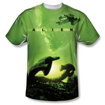 Alien™ SHIP All-Over T-Shirt