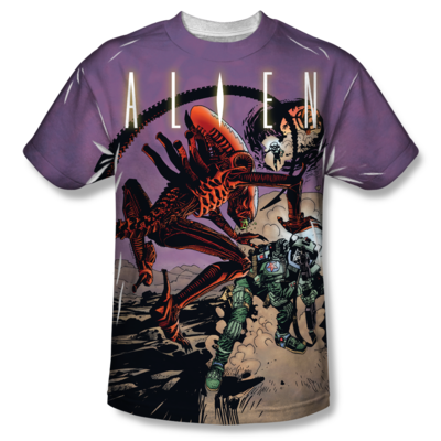 Alien™ READY OR NOT All-Over T-Shirt