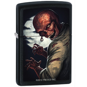 Full Moon Zombie Zippo Lighter