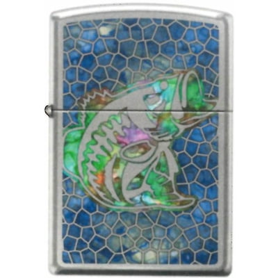 Bass Fusion - Hi-Polished Chrome Finish - Zippo Lighter