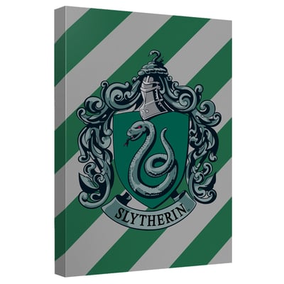 Harry Potter™ Slytherin Crest Art Canvas