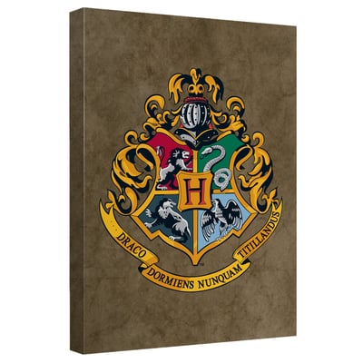 Harry Potter™ Hogwarts Crest Art Canvas