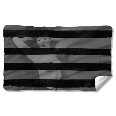 Bettie Page™ Black Stripes Home Goods