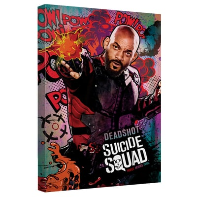 Deadshot™ PSYCHEDELIC CARTOON Art Canvas