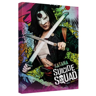 Katana™ PSYCHEDELIC CARTOON Art Canvas