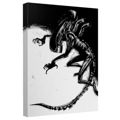 Alien™ OUT OF THE SHADOWS Art Canvas