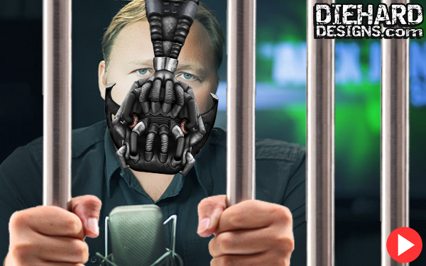 Alex Jones Digitally Muzzled By Trans-Continental Coven of Cyber Censors!