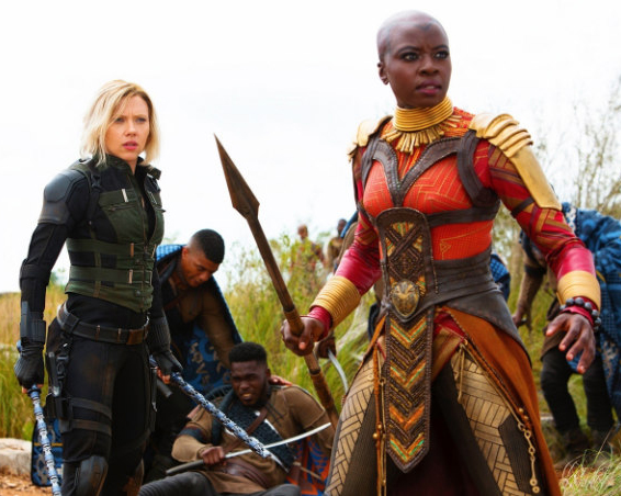Black Widow & Okoye - Avengers - Black Panther - Marvel - Diehard Designs