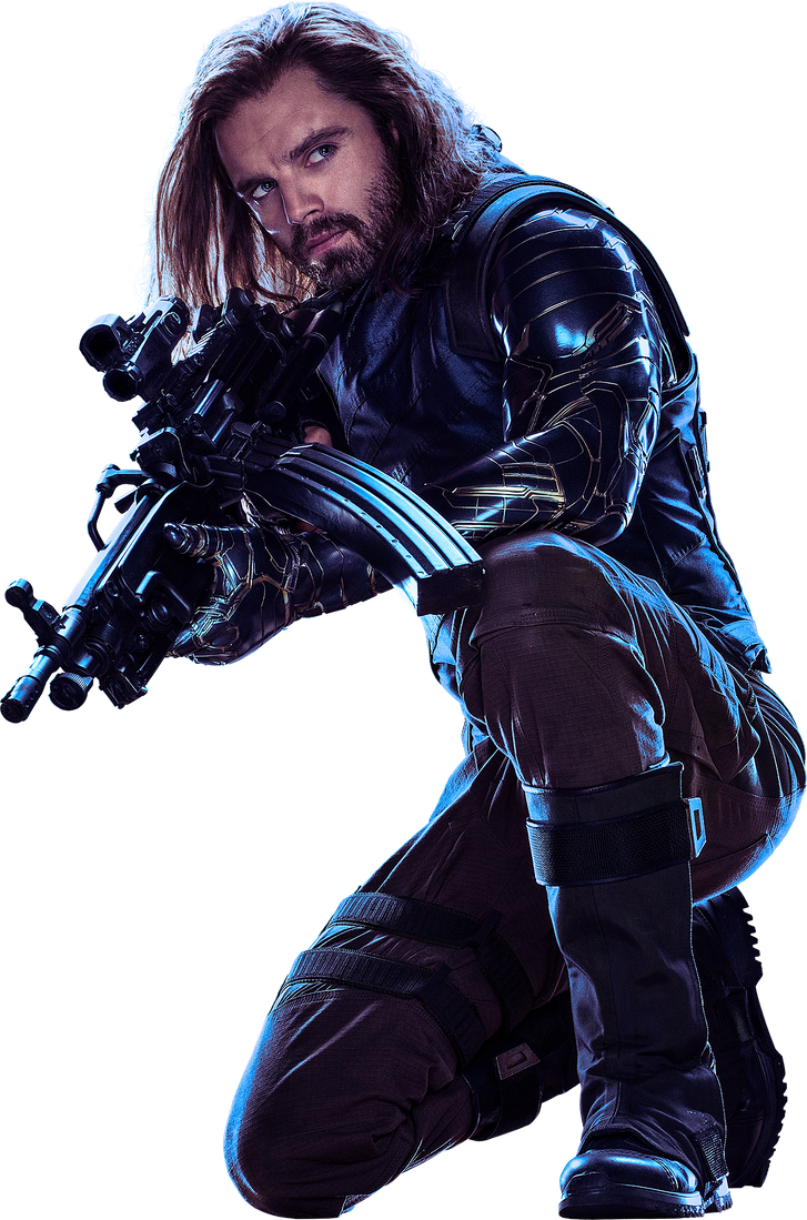 Bucky Barnes The Winter Soldier - Avengers - Marvel - Diehard Designs