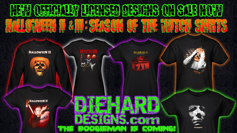 Halloween II & Halloween III: Seaon of the Witch Apparel Promo