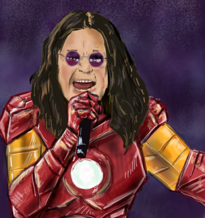 Ozzy Is Iron-Man - Avengers - Marvel - Diehard Designs