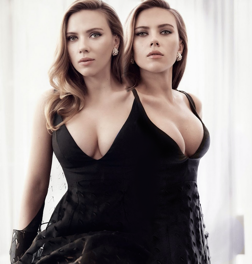 Scarlett Johansson - 4 Boobs - Avengers - Black Widow - Marvel - Diehard Designs